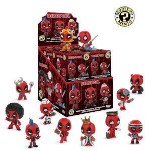 Mystery Mini Blind Box: Marvel: Deadpool: PDQ (CDU 12) / Mys