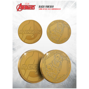 Marvel Black Panther Collectable Evergreen Commemorative Coin