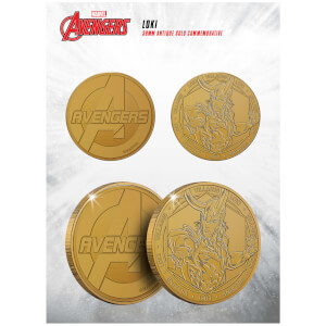 Marvel Loki Collectible Evergreen Commemorative Coin