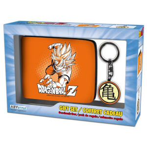 Dragon Ball Z Wallet and Keyring Set