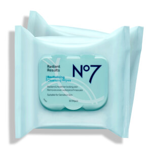 Radaint Results Revitalizing Cleansing Wipes 2x (30 Pack)