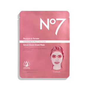 No7 Restore and Renew Sheet Mask 0.82oz