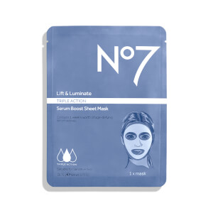 No7 Lift and Luminate Sheet Mask 0.73oz