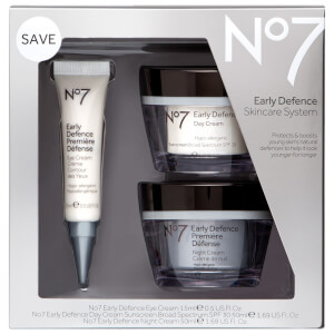 Boots No.7 Early Defence Skincare System 1.75oz