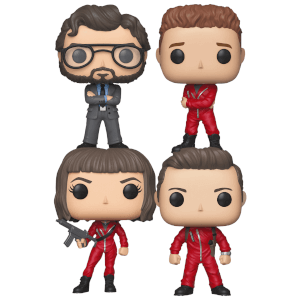 La Casa de Papel Pop! Vinyl - Pop! Collection