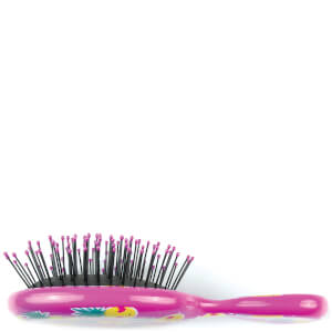 WetBrush Mini Detangler Happy Hair Smiley - Pineapple: Image 4