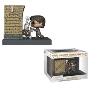 Harry Potter - Harry Potter al Binario 9 3/4 Figura Pop! Movie Moment EXC