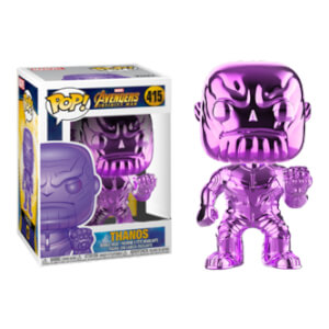 Marvel Thanos Purple Chrome EXC Pop! Vinyl Figure