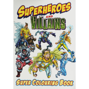 Superheroes Bumper Colouring Book