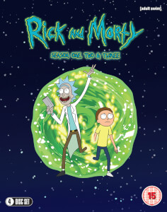 Rick & Morty Season 1-3