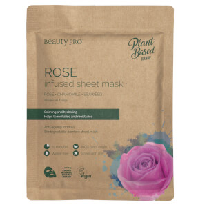 BeautyPro Rose Infused Sheet Mask 22ml