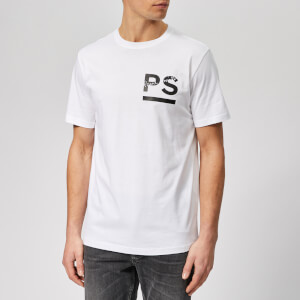 PS Paul Smith Men's Regular Fit High Build T-Shirt - White