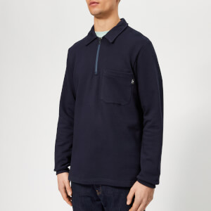 PS Paul Smith Men's Regular Fit Half Zip Sweatshirt - Inky