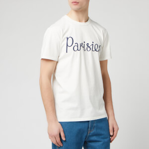 Maison Kitsune Men's Parisien T-Shirt - Latte