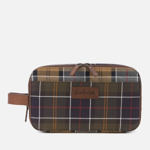 Barbour Men's Mixed Tartan Wash Bag - Multi