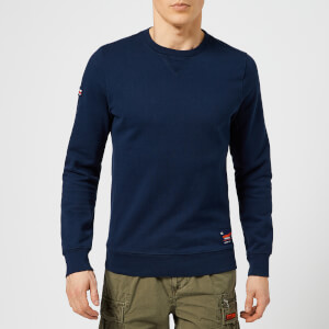 Superdry Men's Dry Originals Crew Neck Sweatshirt - Beach Navy
