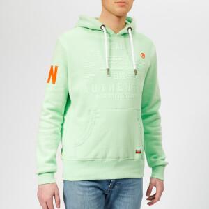 Superdry Men's Pastel Hoodie - Mint