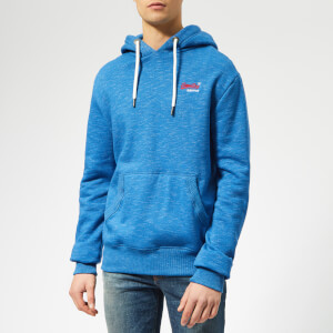 Superdry Men's Classic Overhead Hoodie - Royal Blue Feeder