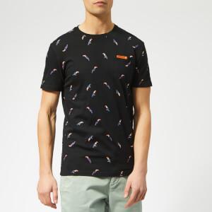 Superdry Men's AOP Toucan T-Shirt - Black