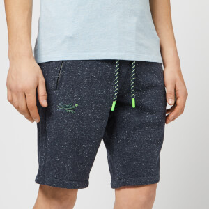 Superdry Men's Jersey Shorts - Navy Grit