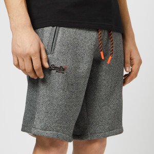 Superdry Men's Jersey Shorts - Grey Twill