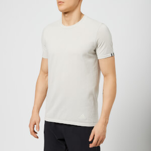 adidas Men's 25/7 Short Sleeve T-Shirt - Raw White