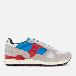 Saucony Men's Shadow Original Vintage Trainers - Grey/Blue/Red