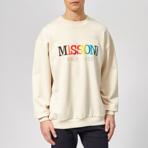 Missoni Men's Logo Sweatshirt - Off White