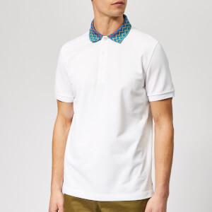 Missoni Men's Zig Zag Polo-Shirt - Off White