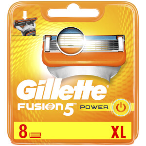 Fusion5 Power Razor Blades for Men - 8 Count