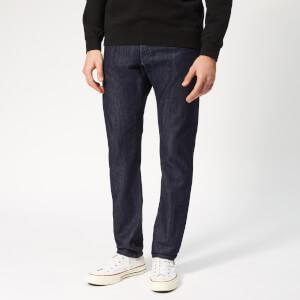 Edwin Men's Ed-55 Regular Tapered Kingston Blue Denim Jeans - Rinsed