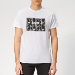 Edwin Men's Bamboo Logo T-Shirt - White