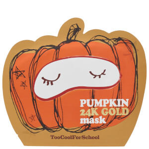 Too Cool For School Pumpkin 24K Gold Mask 25g