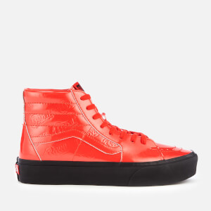 Vans X David Bowie Sk8-Hi Platform 2.0 Trainers - Ziggy Stardust/Red/Black