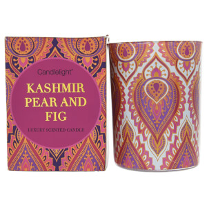 Candlelight India Kashmir and Fig Candle in Gift Box