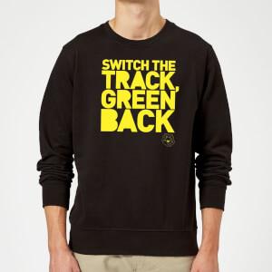 Danger Mouse Switch The Track Green Back Sweatshirt - Black