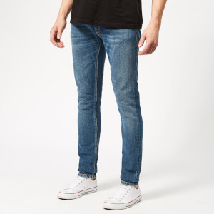Nudie Jeans Men's Skinny Lin Jeans - Mid Authentic Power