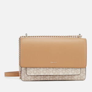 DKNY Women's Bryant Small Chain Cross Body Bag - Hemp/Latte