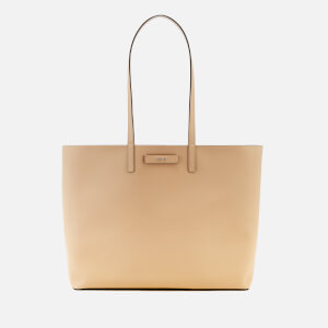DKNY Women's Brayden Large Reversible Tote Bag - Latte/Pink