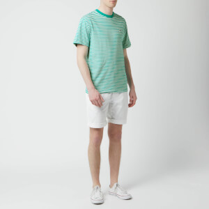 Tommy Jeans Men's Classics Stripe T-Shirt - Dynasty Green/Classic White