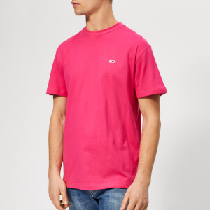 Tommy Jeans Men's Tommy Classics T-Shirt - Fuchsia Purple