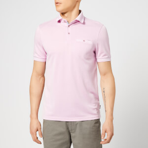Ted Baker Men's Frog Polo Shirt - Pink