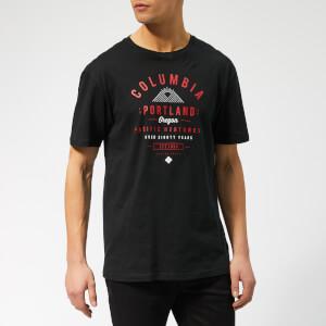 Columbia Men's Leathan Trail Short Sleeve T-Shirt - Black
