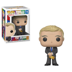 Wheel of Fortune Pat Sajak Funko Pop! Figuur