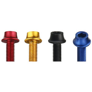Token Alloy Bottle Cage Bolts (4pcs)