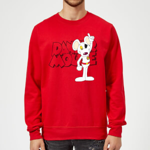 Danger Mouse Pose Sweatshirt - Red