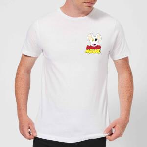 Danger Mouse Pocket Logo Herren T-Shirt - Weiß
