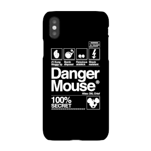 Danger Mouse 100% Secret Phone Case for iPhone and Android
