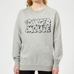 Danger Mouse Target Damen Sweatshirt - Grau