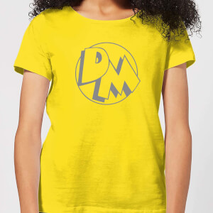 Danger Mouse Initials Women's T-Shirt - Yellow